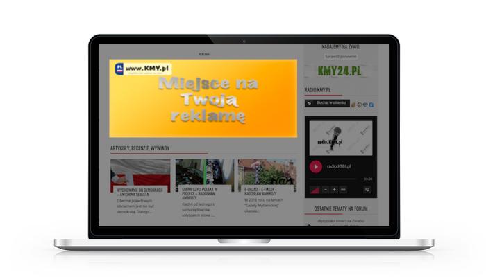 bannery reklamowe portal KMY.pl