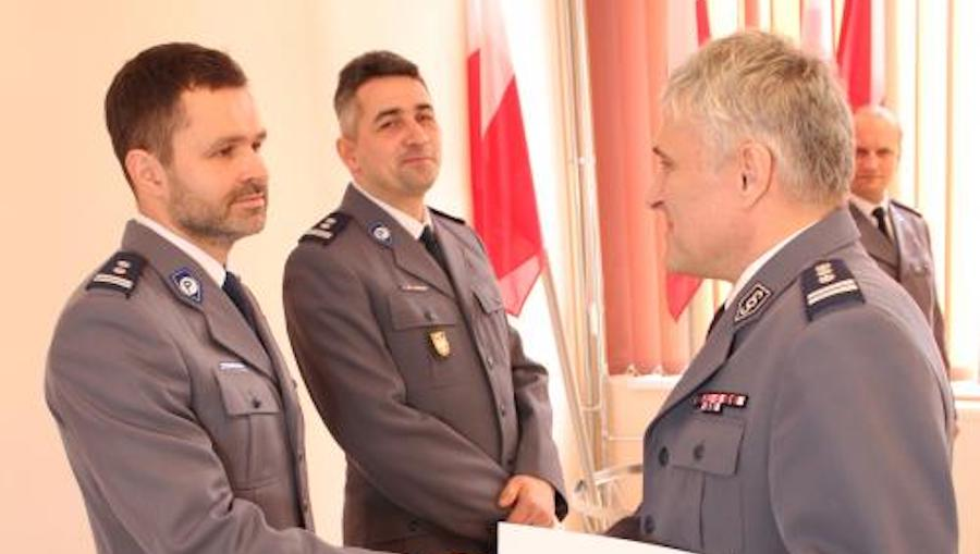 Nowy komendant Policji w Myślenicach