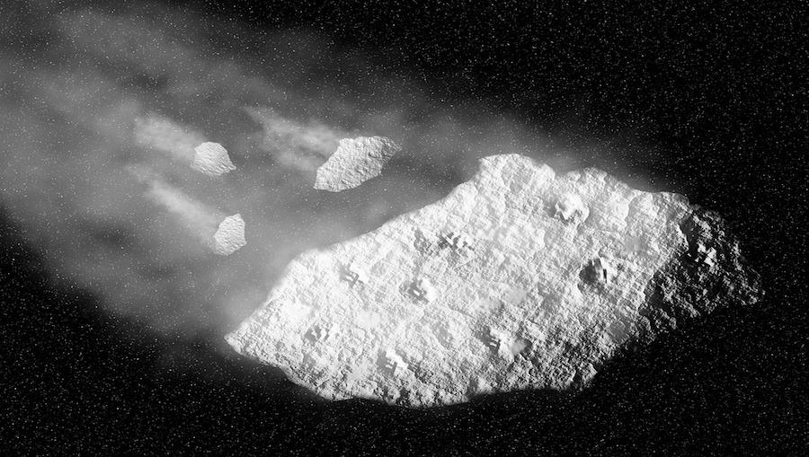 Asteroida o wielkości Tunguska