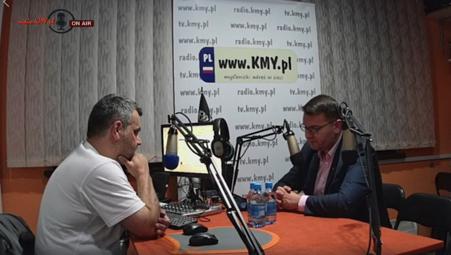 Złoty pociąg do Myślenic w radio KMY.pl