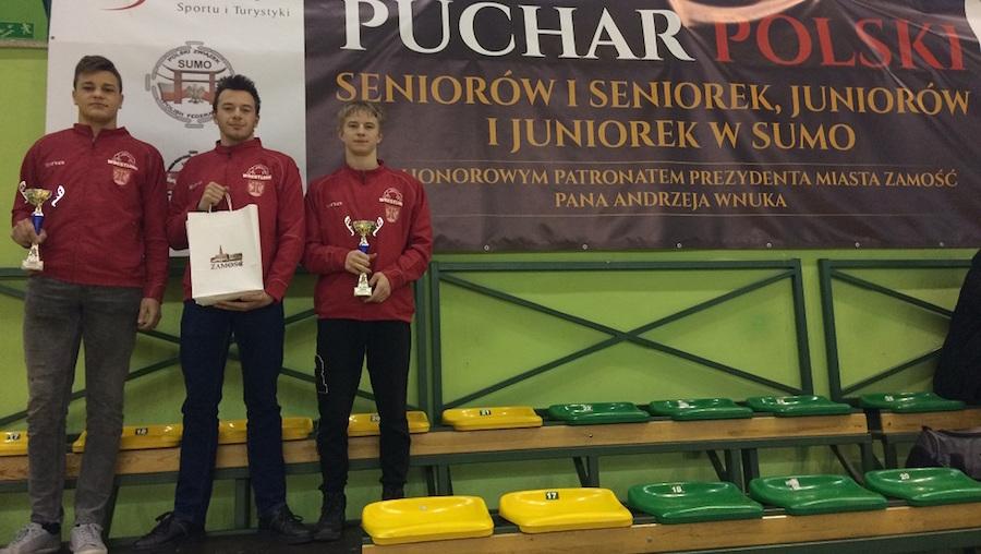 Pucharu Polski Juniorów w Sumo