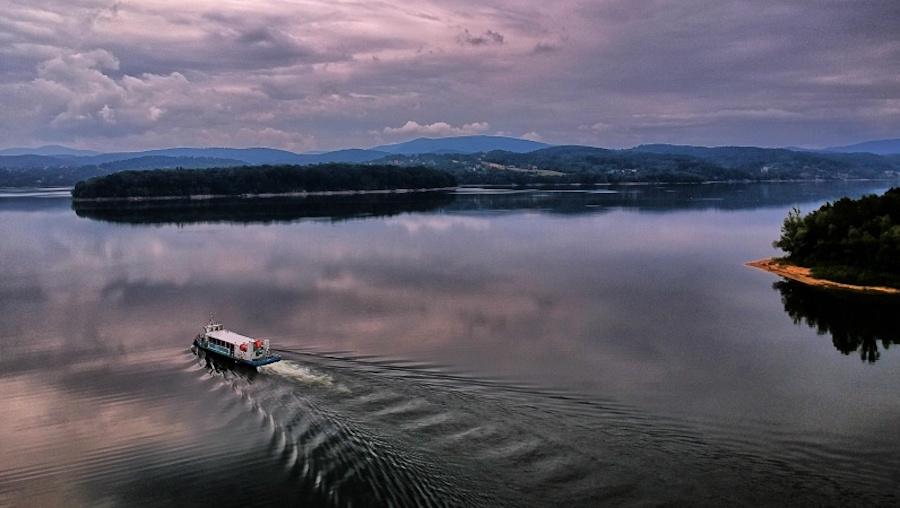 Rejst po Jeziorze Dobczyckim