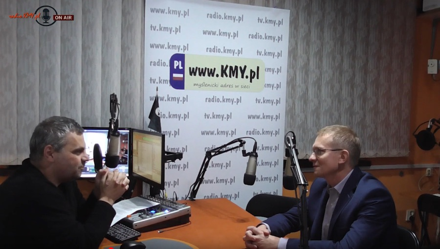 Marcin Bajer z KW Konfederacja kolejnym gościem radiowych audycji przed wyborami