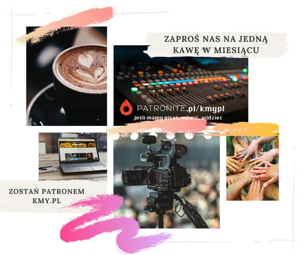 Zostań patronem KMYpl - zaproś nas na kawę !